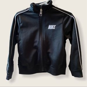 3T Boy Black Nike Zip Jacket